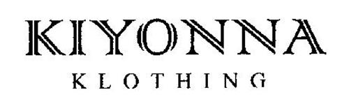 KIYONNA KLOTHING