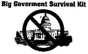 BIG GOVERNMENT SURVIVAL KIT