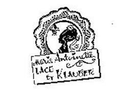MARIE ANTOINETTE LACE BY KLAUBER