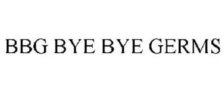 BBG BYE BYE GERMS