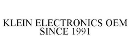 KLEIN ELECTRONICS OEM SINCE 1991
