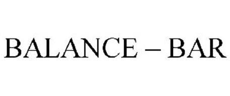 BALANCE - BAR