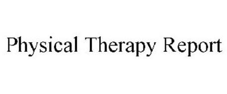 PHYSICAL THERAPY REPORT