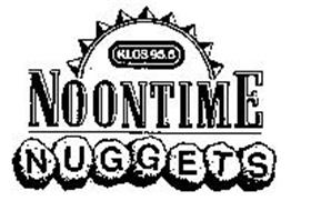 KLOS 95.5 NOONTIME NUGGETS