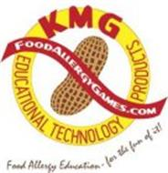 FOODALLERGYGAMES.COM KMG EDUCATIONAL TECHNOLOGY PRODUCTS FOOD ALLERGY EDUCATION - FOR THE FUN OF IT!