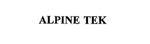 ALPINE TEK