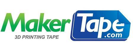 MAKER TAPE.COM 3D PRINTING TAPE