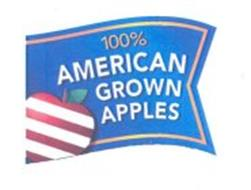 100% AMERICAN GROWN APPLES
