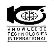 KNOWLEDGE TECHNOLOGIES INTERNATIONAL