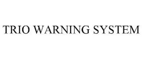 TRIO WARNING SYSTEM