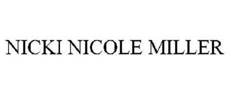 NICKI NICOLE MILLER