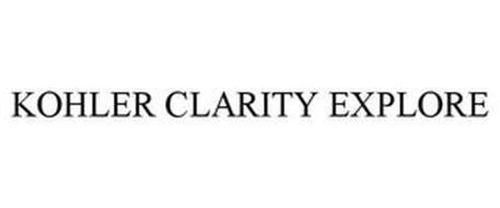 KOHLER CLARITY EXPLORE