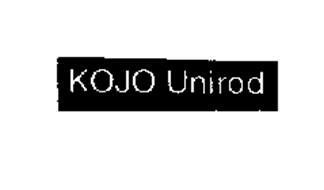 KOJO - UNIROD
