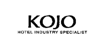 KOJO HOTEL INDUSTRY SPECIALIST