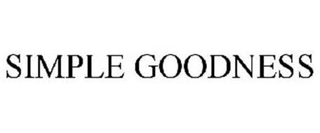 SIMPLE GOODNESS