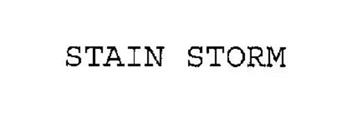 STAIN STORM