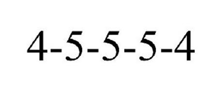 4-5-5-5-4