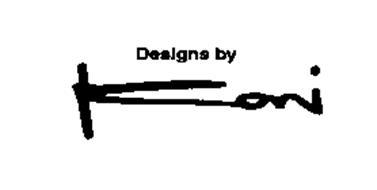 DESIGNS BY KONI