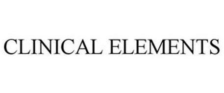 CLINICAL ELEMENTS
