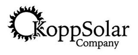 KOPP SOLAR COMPANY