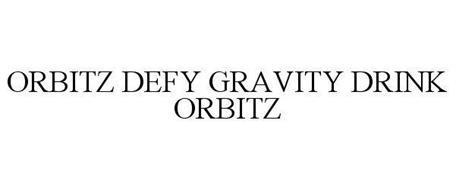 ORBITZ DEFY GRAVITY DRINK