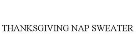 THANKSGIVING NAP SWEATER