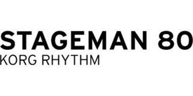 STAGEMAN 80 KORG RHYTHM