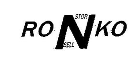 RONKO STOR N SELL