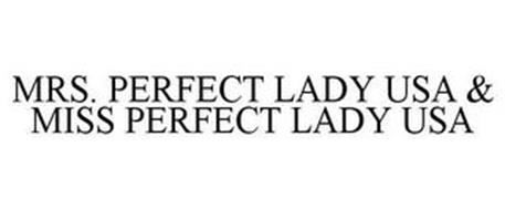 MRS. PERFECT LADY USA & MISS PERFECT LADY USA