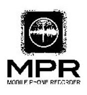 MPR MOBILE PHONE RECORDER