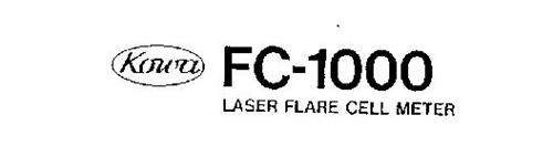 KOWA FC-1000 LASER FLARE CELL METER