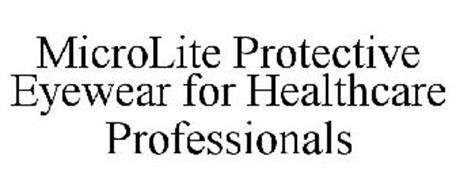 MICROLITE PROTECTIVE EYEWEAR FOR HEALTHCARE PROFESSIONALS