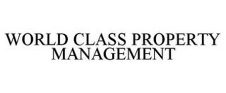 WORLD CLASS PROPERTY MANAGEMENT