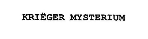 KRIËGER MYSTERIUM
