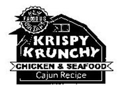 NEW ORLEANS FAMOUS KRISPY KRUNCHY CHICKEN & SEAFOOD CAJUN RECIPE