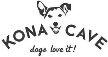 KONA CAVE DOGS LOVE IT!