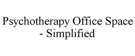 PSYCHOTHERAPY OFFICE SPACE - SIMPLIFIED