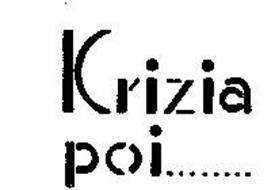 KRIZIA POI