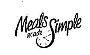 MEALS MADE SIMPLE