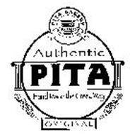 PITA BAKERY KRONOS AUTHENTIC PITA HAND MADE THE GREEK WAY ORIGINAL