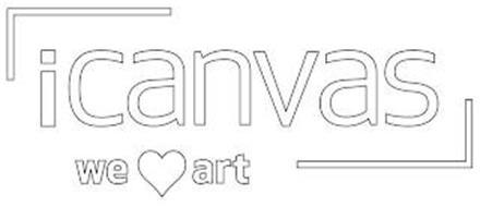 ICANVAS WE HEART ART