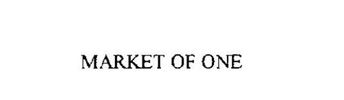 MARKET OF ONE