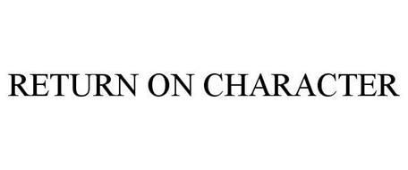 RETURN ON CHARACTER