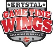 KRYSTAL GAME TIME WINGS BEST WINGS IN THE GAME!