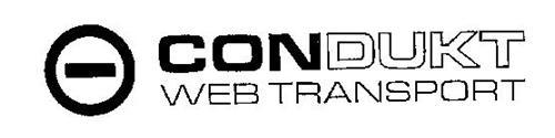 CONDUKT WEB TRANSPORT