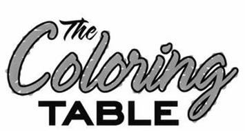 THE COLORING TABLE