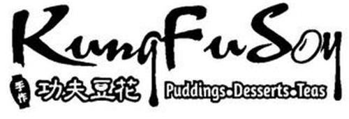 KUNG FU SOY PUDDINGS· DESSERTS·TEAS