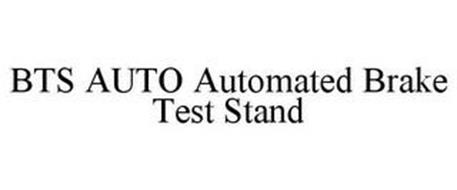 BTS AUTO AUTOMATED BRAKE TEST STAND