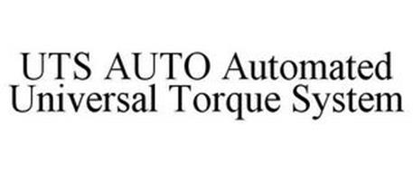 UTS AUTO AUTOMATED UNIVERSAL TORQUE SYSTEM