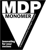 MDP MONOMER INNOVATING FOR YOUR SUCCESS 10-METHACRYLOYLOXYDECYL DIHYDROGEN PHOSPHATE